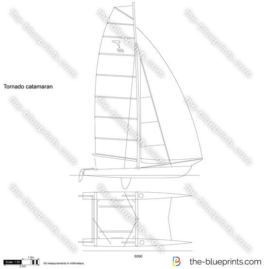 Tornado catamaran