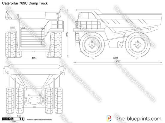 Caterpillar 769C Dump Truck