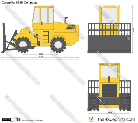Caterpillar 825H Compacter