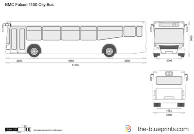 BMC Falcon 1100 City Bus