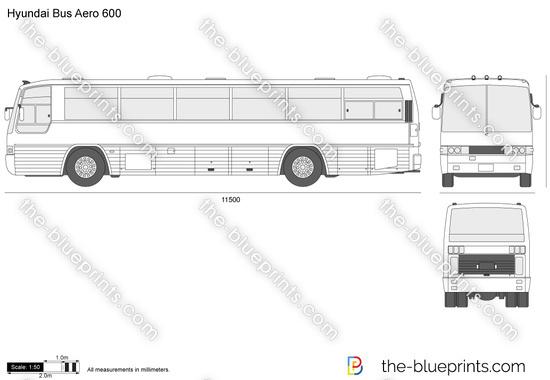Hyundai Bus Aero 600