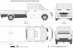 Mercedes-Benz Sprinter Pickup LWB Double Cabin