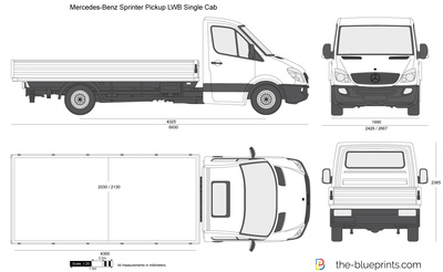 Mercedes-Benz Sprinter Pickup LWB Single Cab