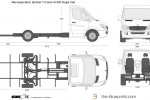 Mercedes-Benz Sprinter T-Frame XLWB Single Cab