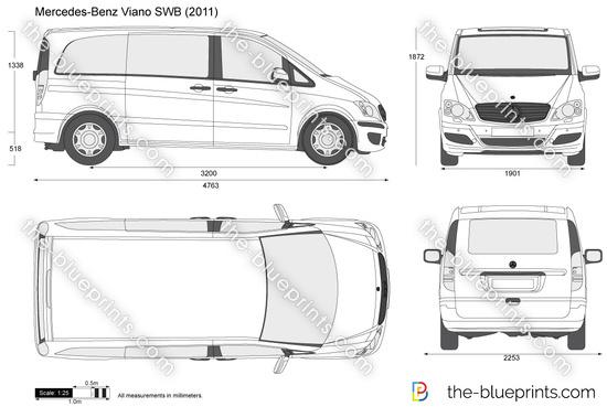 Mercedes vito vector free #6