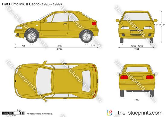 Fiat Punto Mk. II Cabrio