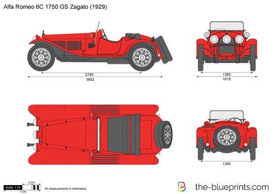 Alfa Romeo 6C 1750 GS Zagato (1929)