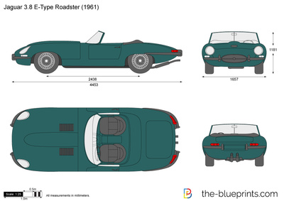 Jaguar 3.8 E-Type Roadster