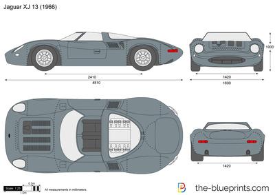 Jaguar XJ 13 (1966)