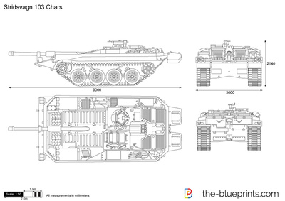 Stridsvagn 103 Chars