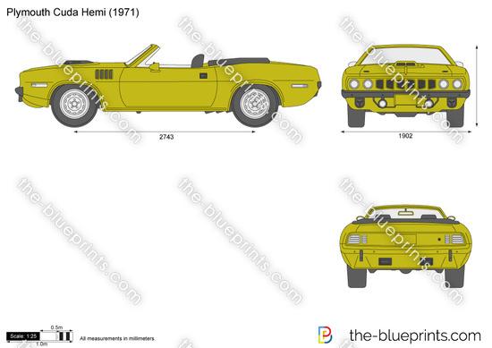 Plymouth Cuda Hemi