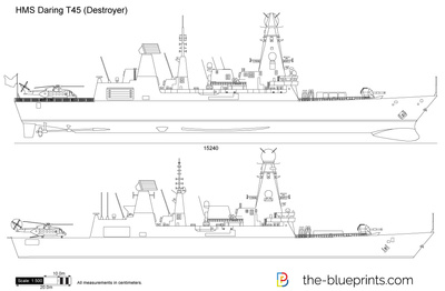 HMS Daring T45 (Destroyer)
