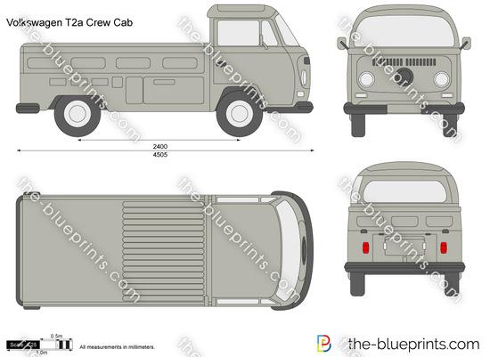 Volkswagen T2a Crew Cab