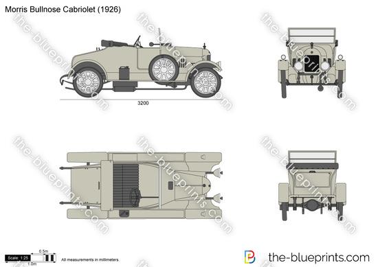 Morris Bullnose Cabriolet