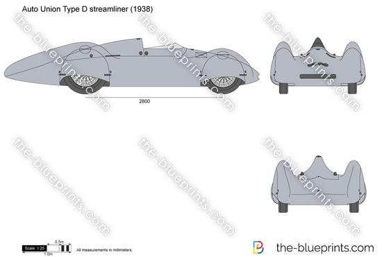 Auto Union Type D streamliner