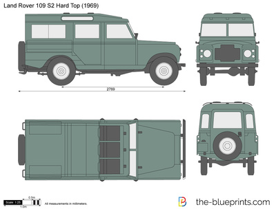 Land Rover 109 S2 Hard Top