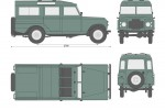 Land Rover 109 S2 Hard Top (1969)