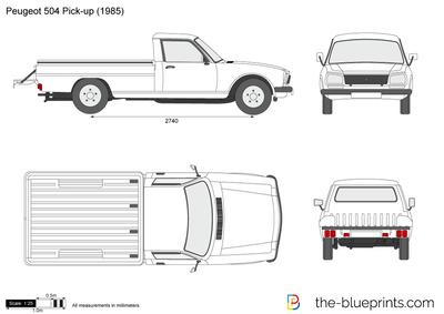 Peugeot 504 Pick-up