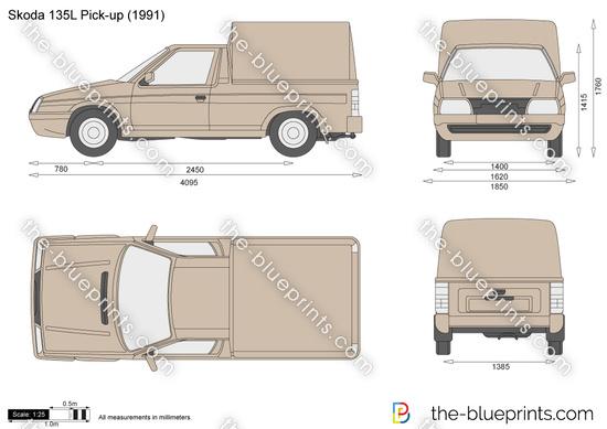 Skoda 135L Pick-up