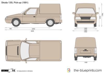 Skoda 135L Pick-up (1991)