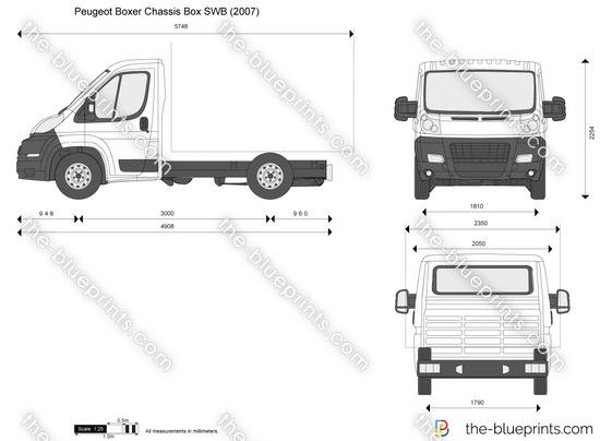 Peugeot Boxer Chassis Box SWB