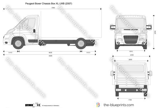 Peugeot Boxer Chassis Box XL LWB