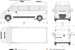Citroen Relay Minibus 13-person