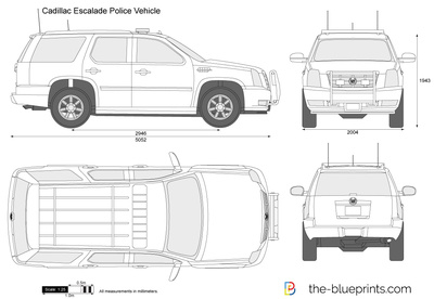 Cadillac Escalade Police Vehicle