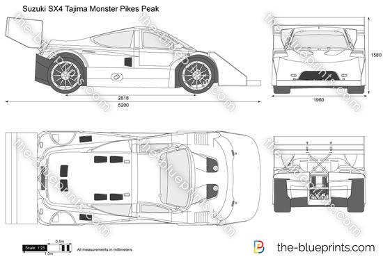 Suzuki SX4 Tajima Monster Pikes Peak