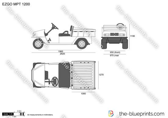 EZGO MPT 1200