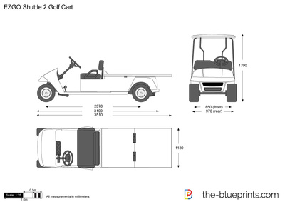 EZGO Shuttle 2 Golf Cart