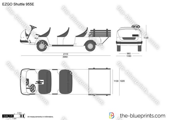 EZGO Shuttle 955E