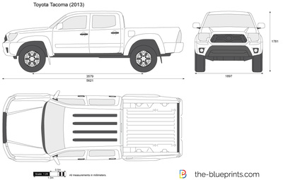 Vector Drawing Preview Toyota