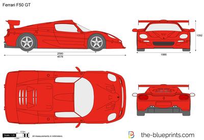 Ferrari F50 GT (1996)