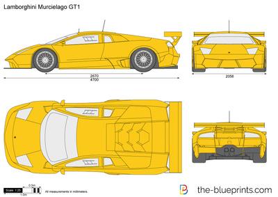 Lamborghini Murcielago GT1