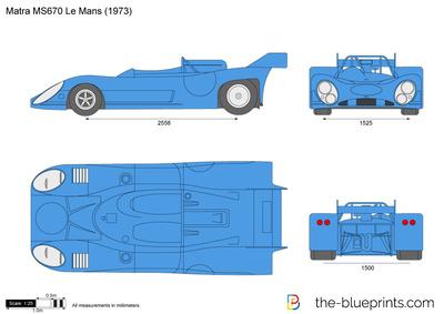 Matra MS670 Le Mans (1973)