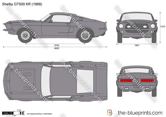 Shelby GT500 KR