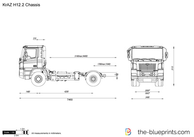 KrAZ H12.2 Chassis