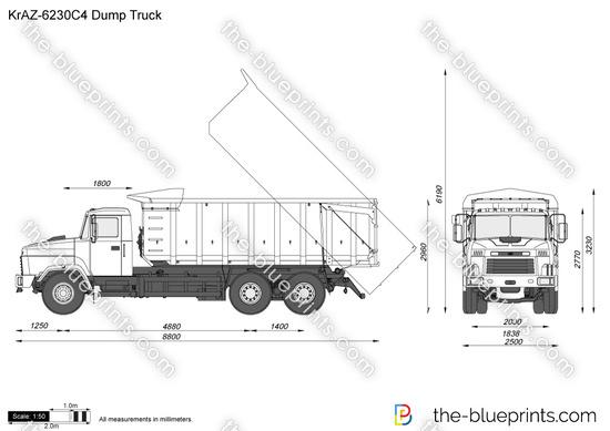 KrAZ-6230C4 Dump Truck