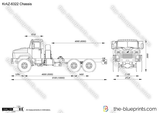 KrAZ-6322 Chassis