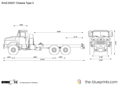 KrAZ-63221 Chassis Type 3