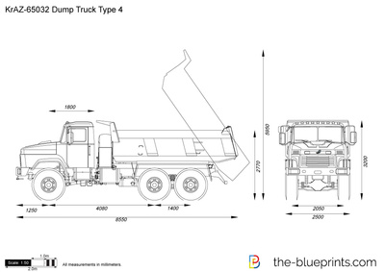 KrAZ-65032 Dump Truck Type 4