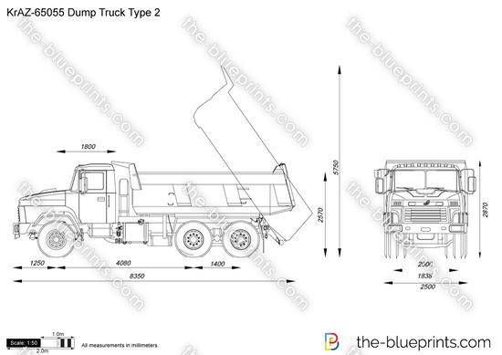 KrAZ-65055 Dump Truck Type 2