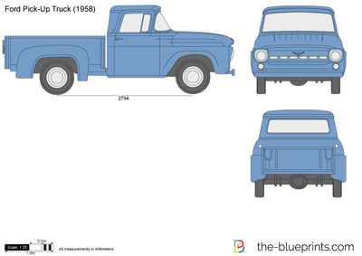 Ford Pick-Up Truck
