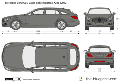 Mercedes-Benz CLS-Class Shooting Brake X218
