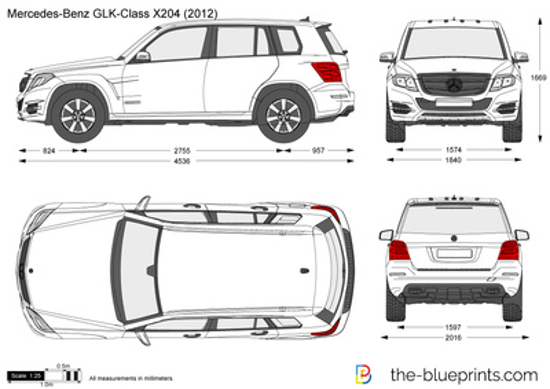 Mercedes-Benz GLK-Class X204