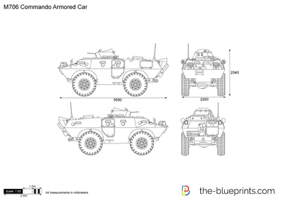 M706 Commando Armored Car