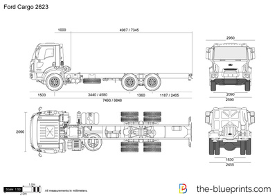 Ford Cargo 2623