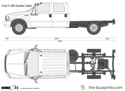Ford F-350 Double Cabin Chassis