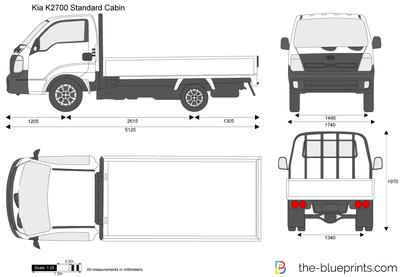 Kia K2700 Standard Cabin